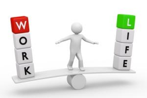Work-Life-Balance 3d
